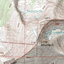 topographic maps printed