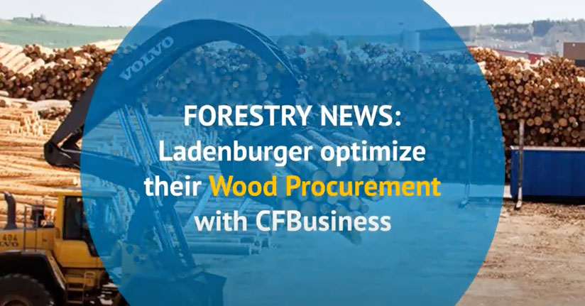 One of Germany's largest sawmills, Ladenburger digitalize their workflow with CFBusiness.